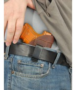 Barsony Brown Leather IWB Concealment Gun Holster for SIG P290 9mm - $29.99