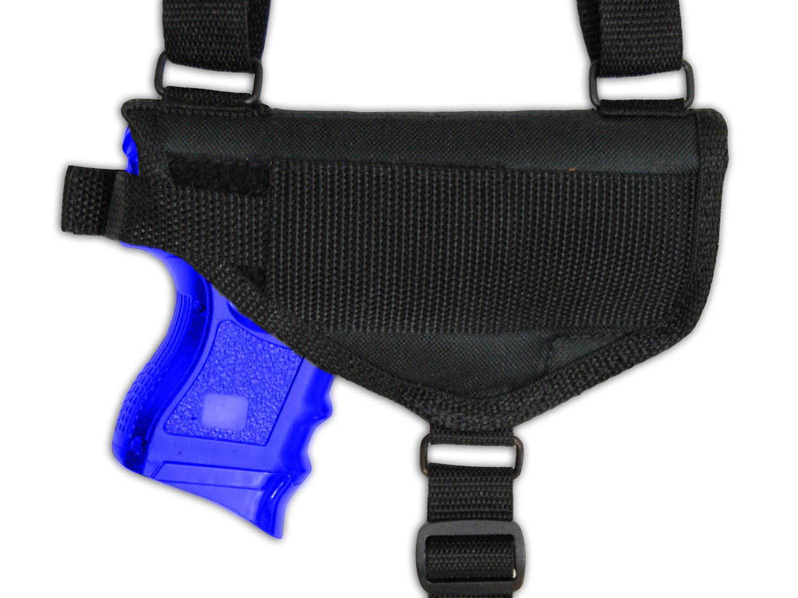 Barsony Cross Harness Gun Shoulder Holster Springfield XD Compact, Sub-Compact