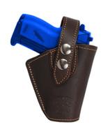 Barsony Gun OWB Brown Leather Belt Clip Holster for Bersa, Colt Mini 22 ... - $34.99