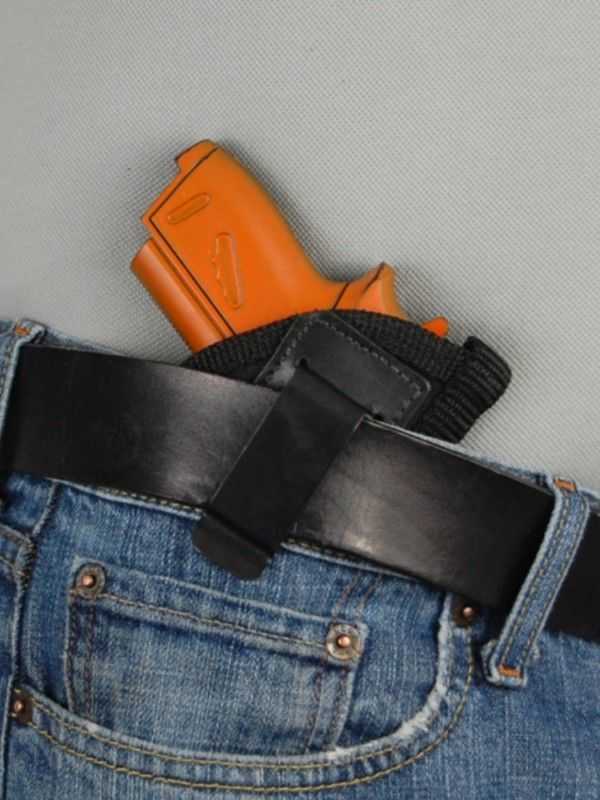 Barsony IWB Concealment Gun Holster for S&W Bodyguard .380 with Crimson Trace