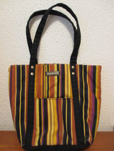 Longaberger striped tote purse - $14.99