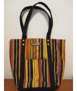 Longaberger striped tote purse - $14.99