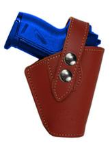 Barsony OWB Burgundy Leather Belt Clip Holster for Astra AMT CZ Mini 22 25 380 - $34.99