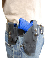 NEW Barsony Black Leather Holster + Mag Pouch Smith&Wesson Small 380 Ult... - $69.99
