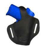 NEW Barsony Black Leather Pancake Holster Ruger Kimber Small 380 UltraCo... - $39.99