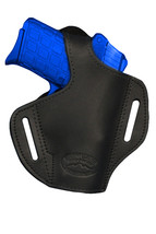 NEW Barsony Black Leather Pancake Holster Paraordnance Small 380 UltraComp 9mm40 - $39.99