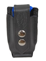 NEW Barsony Black Leather Single Mag Pouch Beretta, Taurus Mini/Pocket 2... - $27.99