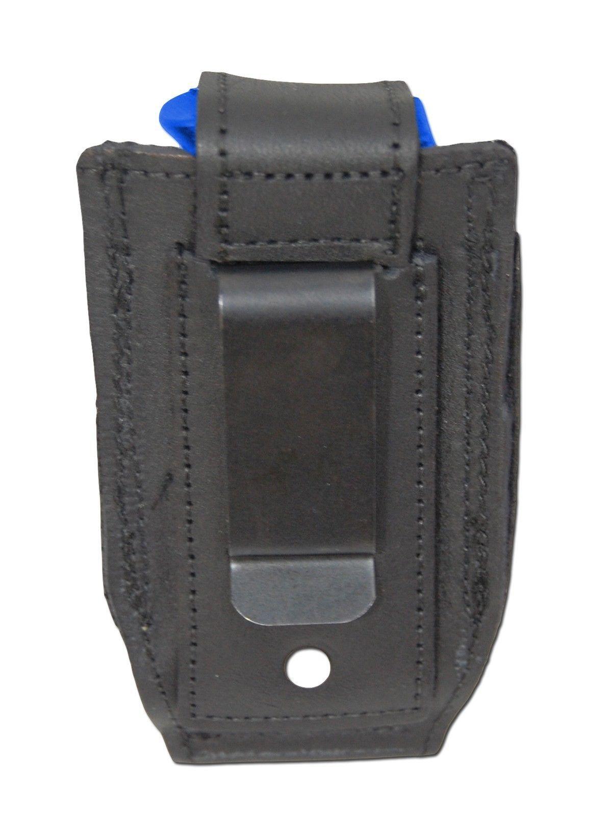 NEW Barsony Black Leather Single Mag Pouch for Cobra, EAA Mini/Pocket 22 25 380