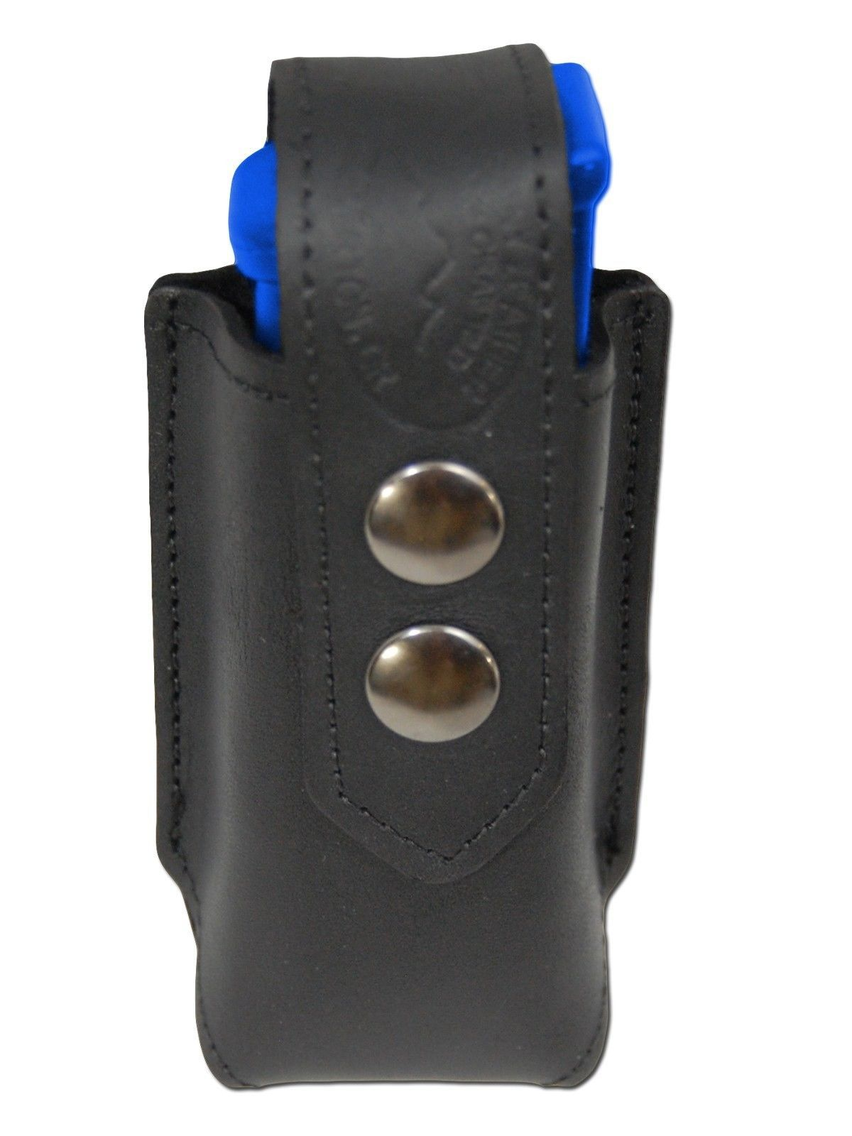 NEW Barsony Black Leather Double Magazine Pouch for Sig Sauer Compact 9mm 40 45
