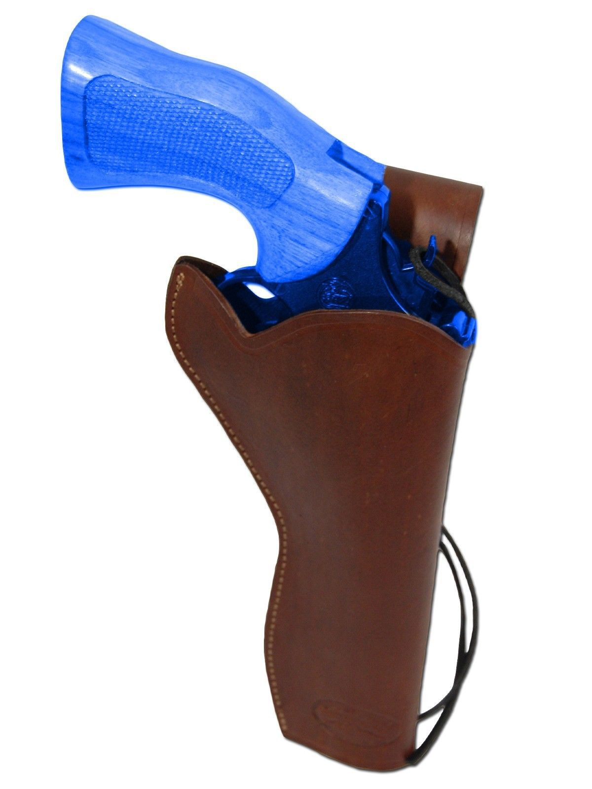 NEW Barsony Brown Leather 49-er Style Gun Holster for Smith&Wesson 6