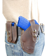 NEW Barsony Brown Leather Holster + Mag Pouch Ruger Kimber Small 380 Ult... - $69.99