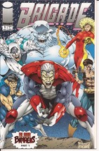 Image Comics Brigade #1 Blood Brothers Part 1 Rob Liefeld Action Adventure - $2.95