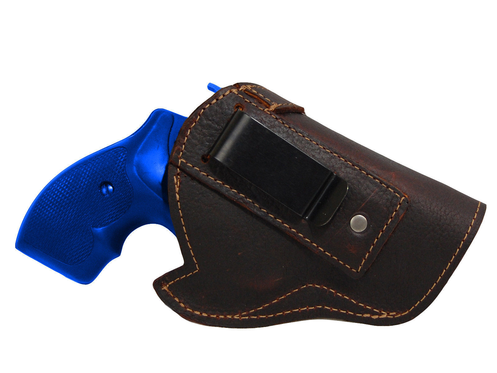 "NEW Barsony Brown Leather IWB Gun Holster EAA, Rossi 2"" Snub Nose Revolvers"