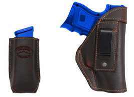 NEW Barsony Brown Leather IWB Holster + Mag Pouch Sig-Sauer Compact 9mm 40 45 - $46.99