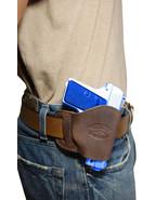 NEW Barsony Brown Leather OWB Yaqui Holster Beretta Taurus Mini-Pocket 2... - $26.99