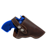 NEW Barsony Brown Leather OWB Gun Holster for Charter Arms 22 38 357 Snu... - $41.99