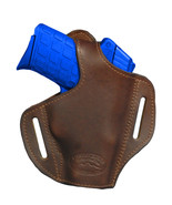 NEW Barsony Brown Leather Pancake Holster SIG, Walther Small 380 UltraCo... - $39.99
