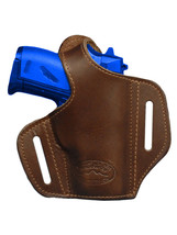 NEW Barsony Brown Leather Pancake Gun Holster Cobra, EAA Mini-Pocket 22 25 380 - $39.99