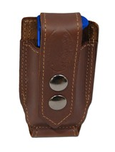 NEW Barsony Brown Leather Single Mag Pouch Astra AMT CZ Mini/Pocket 22 25 380 - $27.99