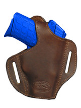 NEW Barsony Brown Leather Pancake Holster Beretta Kahr Small 380 UltraComp 9mm40 - $39.99