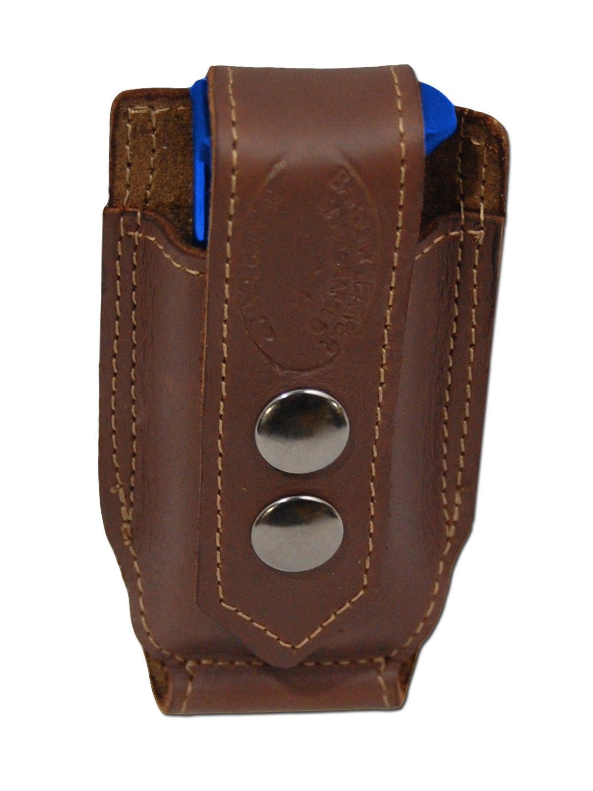 NEW Barsony Brown Leather Single Mag Pouch for Cobra, EAA Mini/Pocket 22 25 380