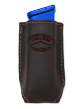 NEW Barsony Brown Leather Single Mag Pouch Beretta Kahr 380 & Ultra Compact 9mm - $19.99