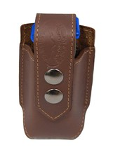 NEW Barsony Brown Leather Single Magazine Pouch Astra Beretta Compact 9m... - $27.99