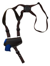 NEW Barsony Brown Leather Thumb Break Shoulder Holster KAHR Beretta Comp... - $59.99