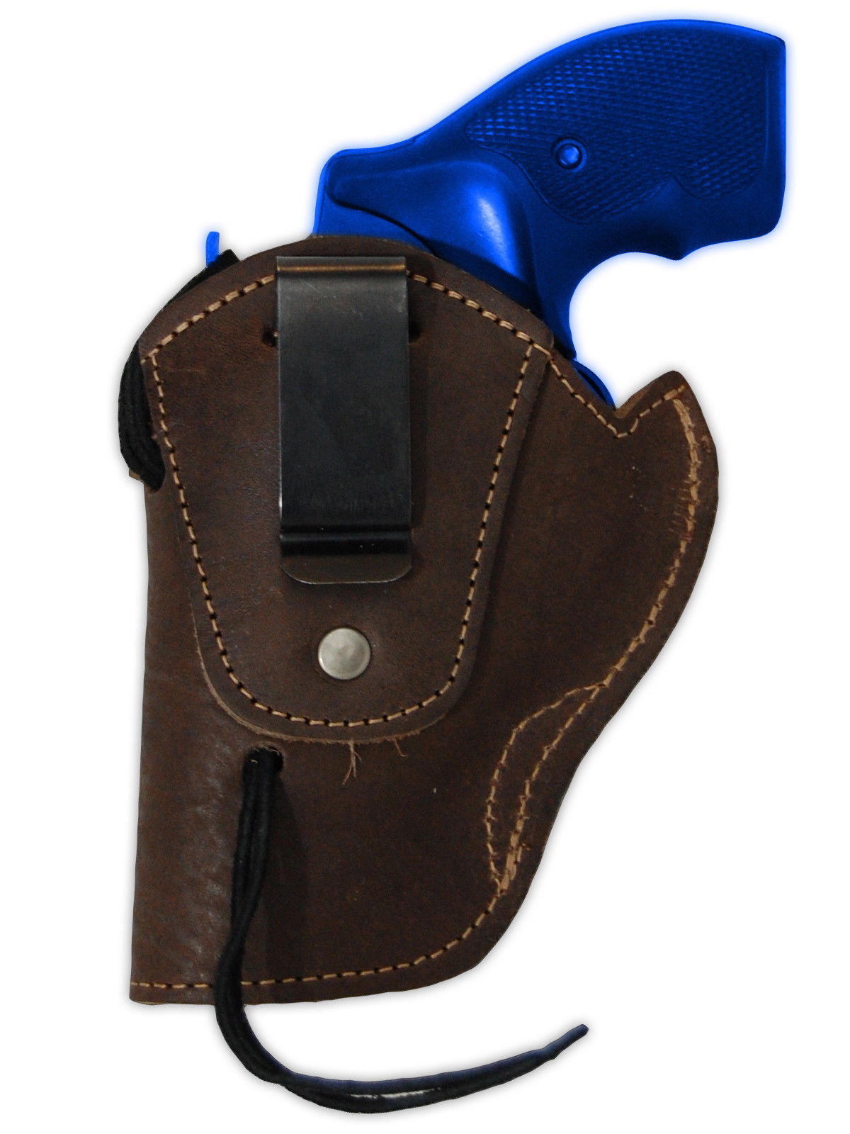 """NEW Barsony Brown Leather Western Style Holster Taurus 22 38 357 Snub Nose 2"""""""