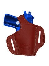 NEW Barsony Burgundy Leather Pancake Gun Holster Walther SIG Mini-Pocket... - $39.99