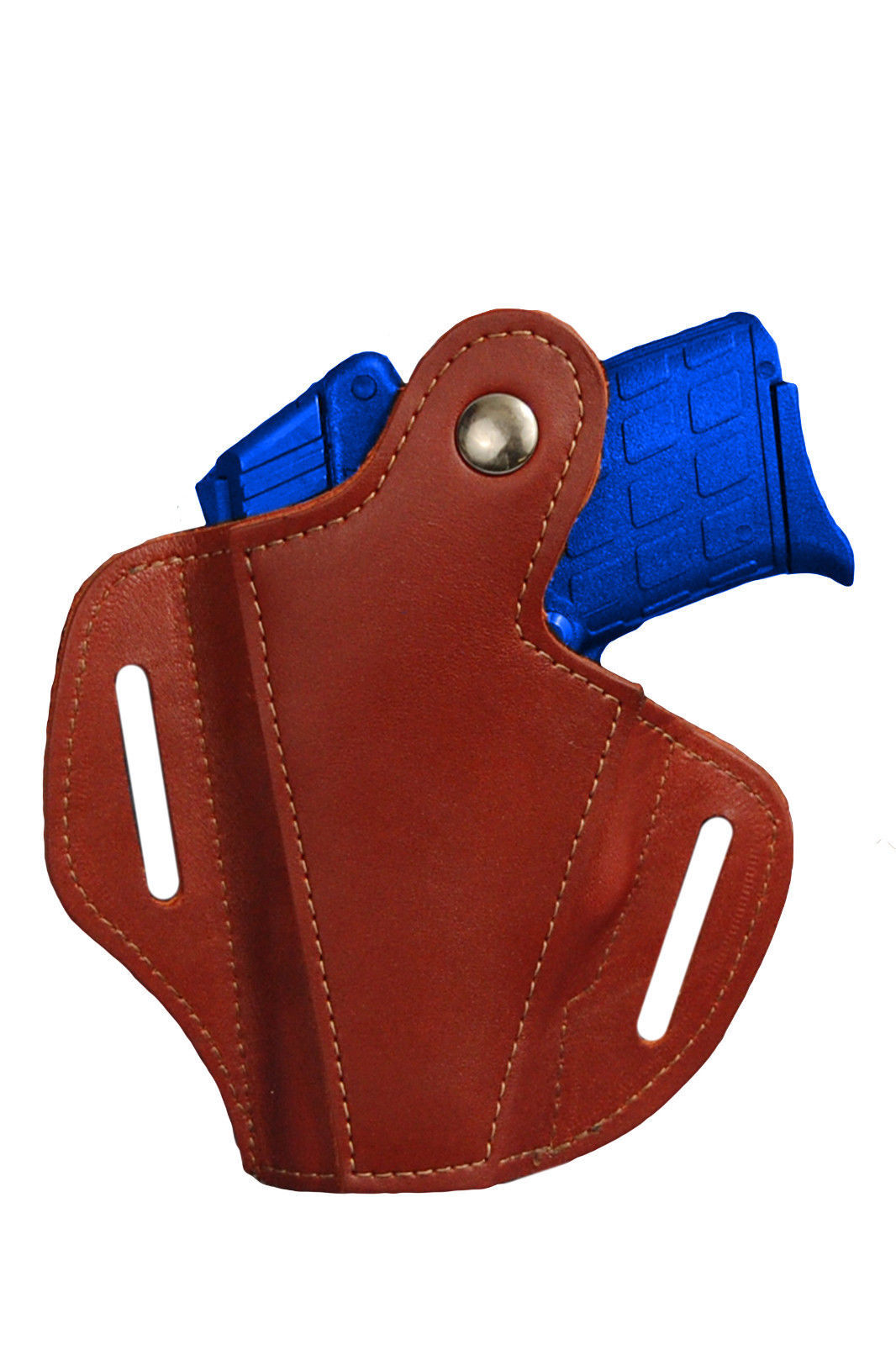NEW Barsony Burgundy Leather Pancake Holster+Dbl Mag Pouch Beretta Comp 9mm40