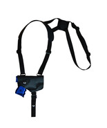 NEW Barsony Horizontal Black Leather Shoulder Holster Kel-Tec, Sccy Comp... - $52.99