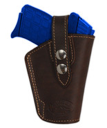NEW Barsony OWB Brown Leather Holster Star, Bersa Small 380 Ultra-Comp 9... - $36.99