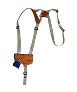 NEW Barsony Tan Leather Horizontal Shoulder Holster for S&W M&P Shield w... - $54.99