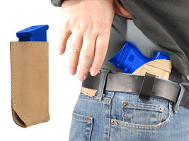 NEW Barsony Tan Leather IWB Holster + Magazine Pouch Sig-Sauer Compact 9mm 40 45 - $46.99