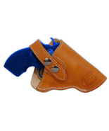 "NEW Barsony Tan Leather OWB Gun Holster for S&W 22 38 357 Snub Nose 2"" R... - $41.99"