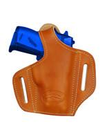 NEW Barsony Tan Leather Pancake Gun Holster Cobra, EAA Mini-Pocket 22 25... - $39.99