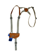 NEW Barsony Tan Leather Shoulder Holster for Sig, Walther Small 380 Ultr... - $52.99