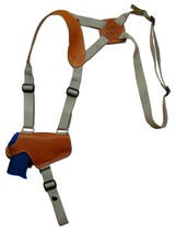 NEW Barsony Tan Leather Thumb Break Shoulder Holster Kel-Tec Taurus 380 9mm 40 - $59.99