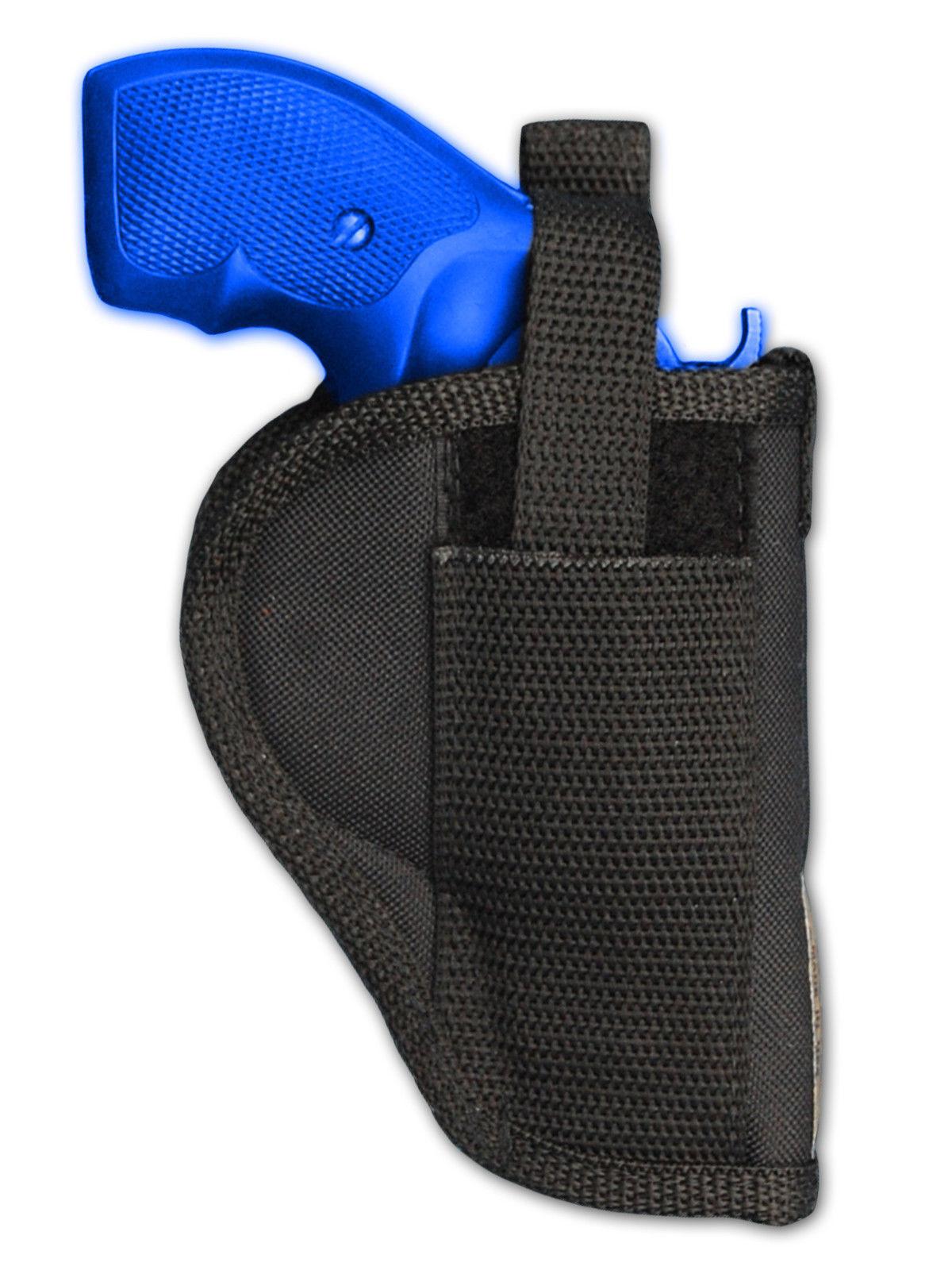 "New Barsony Belt Loop Gun Holster Taurus 22 327 38 357 Snub Nose 2"" Revolvers"