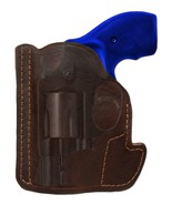 "New Barsony Brown Leather Gun Pocket Holster S&W 2"" Snub Nose 38 357 Rev... - $26.99"