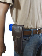 New Barsony Brown Leather Flap Gun Holster for Paraordnance Full Size 9mm 40 45 - $69.99