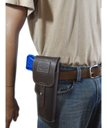 New Barsony Brown Leather Flap Gun Holster for Taurus Full Size 9mm 40 45 - $69.99