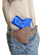 New Barsony Brown Leather Yaqui Gun Holster Taurus Compact 9mm 40 45 - $26.99