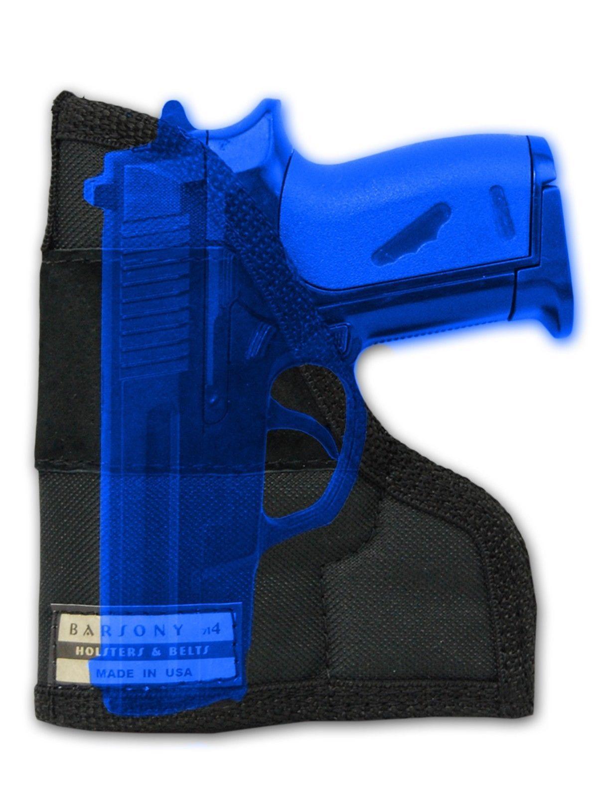 NEW Barsony Black Leather Shoulder Holster Smith /& Wesson Mini-Pocket 22 25 .380