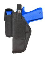 New Barsony Gun Belt Loop Holster w/ Mag Pouch CZ EAA FEG Full Size 9mm ... - $24.99
