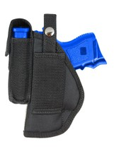 New Barsony OWB Gun Belt Loop Holster w/ Mag Pouch Sig-Sauer Compact 9mm 40 45 - $24.99