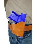New Barsony Saddle Tan Leather Yaqui Gun Holster Taurus Compact 9mm 40 45 - $26.99