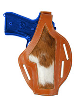 New Barsony Tan Leather Custom Gun Holster Smith & Wesson Full Size 9mm 40 45 - $59.99