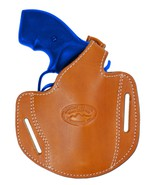 "New Barsony Tan Leather Pancake Gun Holster for Smith & Wesson 2"" Revolvers - $39.99"